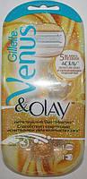 Станок Gillette Venus Olay + 1 картридж