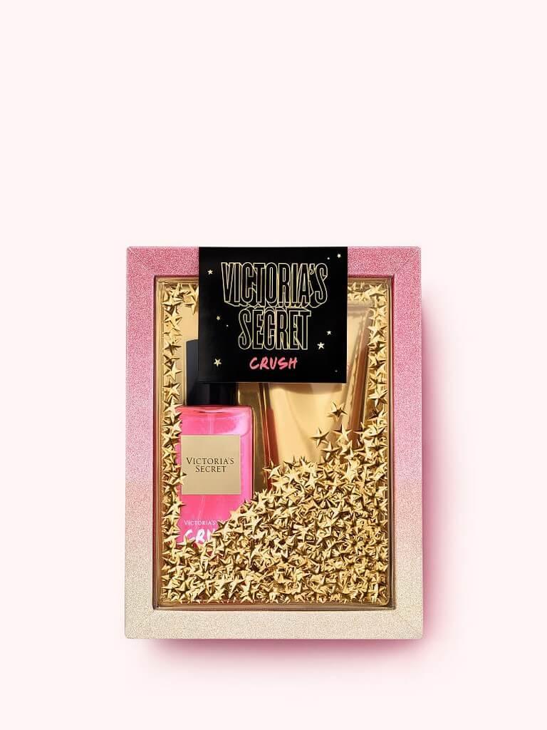 Подарочный набор Victoria's Secret Crush Лосьон+Парфюмированный спрей (оригинал)