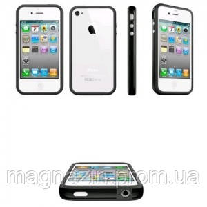 Купить прозрачный пластиковый чехол  для iPhone 4., фото 2