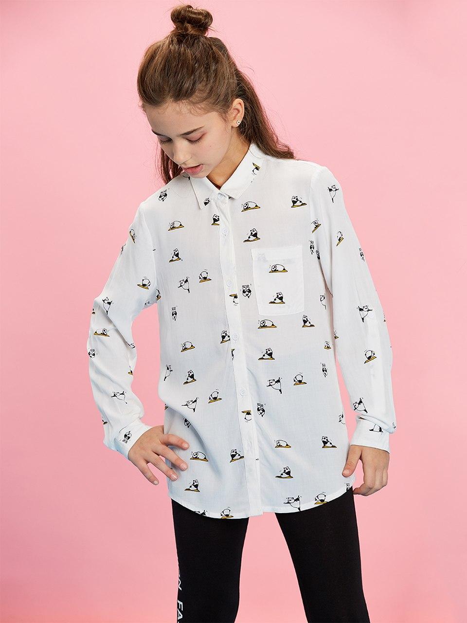 Рубашка для девочки 7-8лет