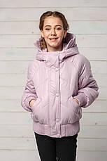 Детская демисезонная куртка для девочки Натали, размеры 134-158, фото 3
