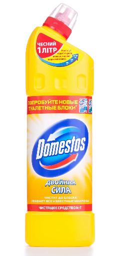 """Средство для чистки и дезинфекции туалета Domestos """"Лимонная свежесть"""" (1л.)"""