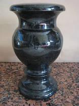 Гранитные вазы от31 до 40см Габбро, фото 3