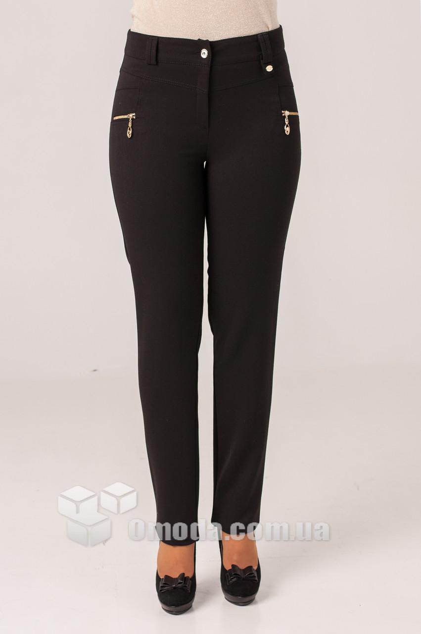 Женские брюки Орнелла черного цвета