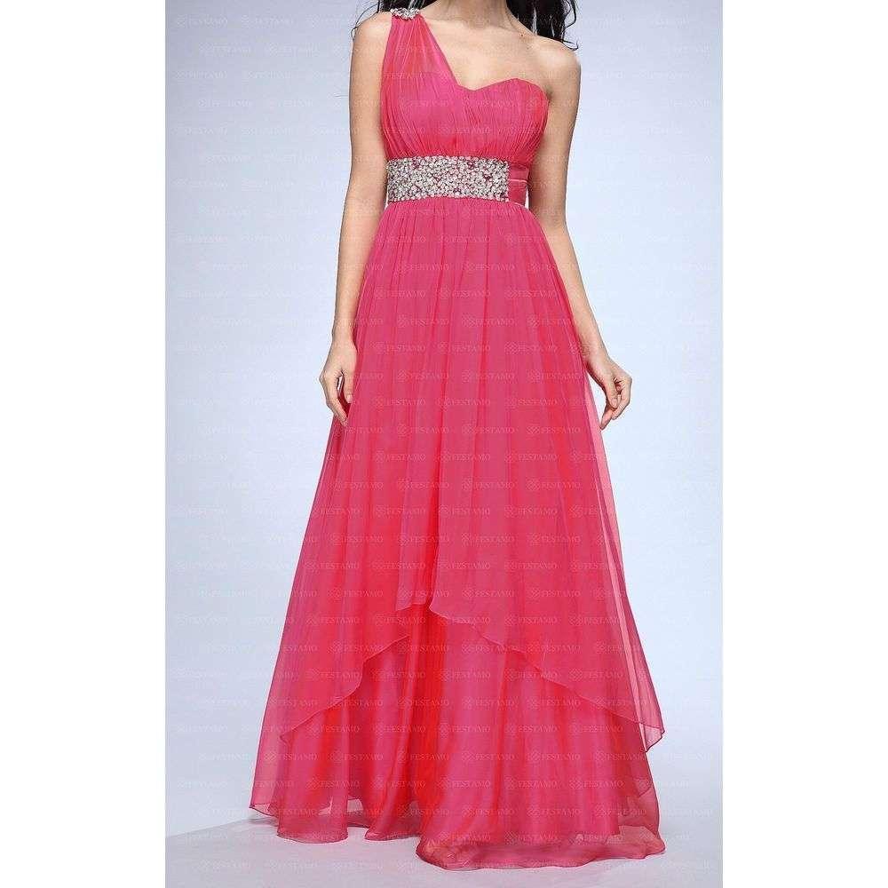 Женское платье от Festamo - фуксия - Мкл-F1337-1-фуксия