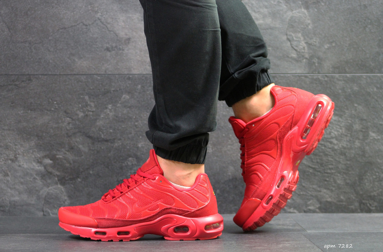 b5263c2e Мужские кроссовки Nike Air Max TN красные - Интернет магазин