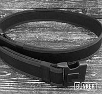 Жесткие ремни LC-1 на фастексе с блоком черные, фото 1