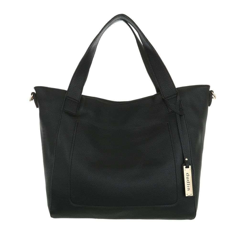 Женская сумка шоппер-black - ТА-9435-3-черный