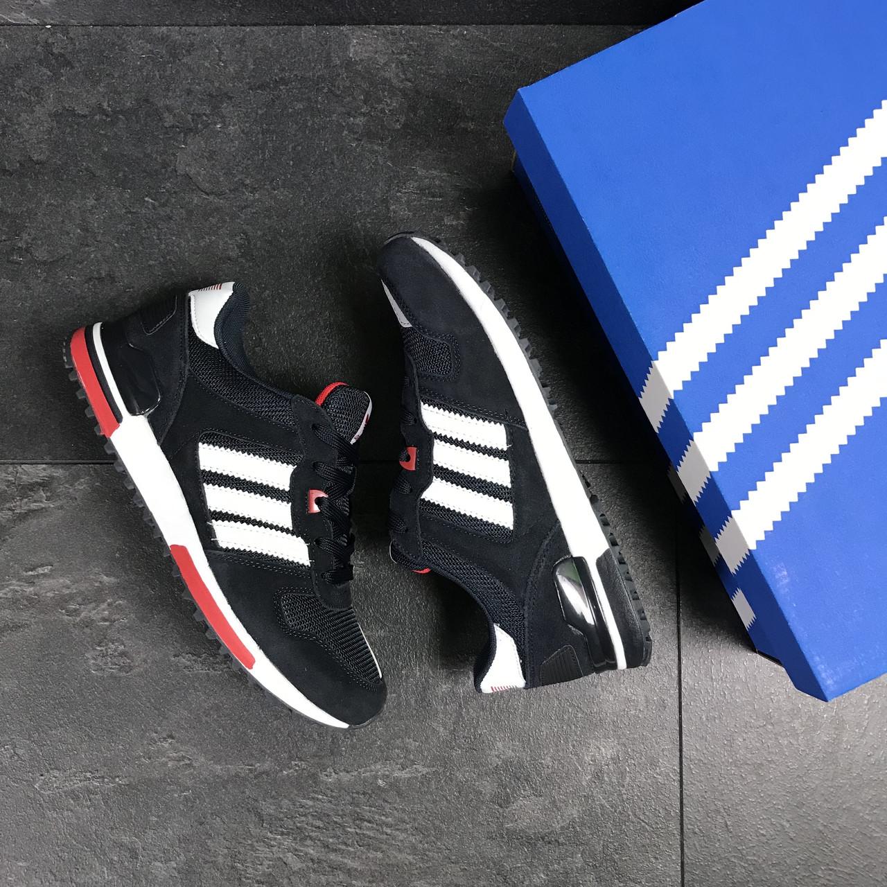 best loved 0572d 40d98 ... Мужские кроссовки Adidas ZX 700 синие, фото 6