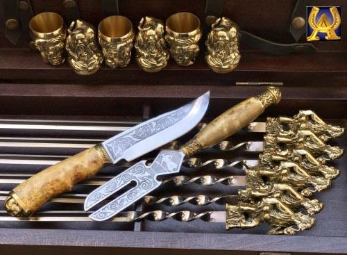 Шампура подарочный набор