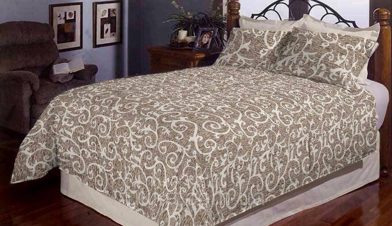 Семейное постельное белье Рябой вензель