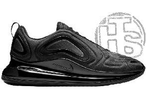 Мужские кроссовки Nike Air Max 720 Triple Black AO2924-004