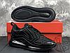 Мужские кроссовки Nike Air Max 720 Triple Black AO2924-004, фото 3