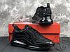 Мужские кроссовки Nike Air Max 720 Triple Black AO2924-004, фото 5