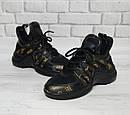 Модные женские кожаные кроссовки в двух расцветках, фото 8