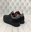 Модные женские кожаные кроссовки со стеганными вставками Carlo Pachini, фото 3