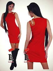 Платье без рукавов дайвинг, фото 3