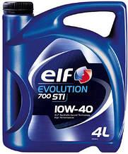"""Автомобильное моторное масло полусинтетическое  """"ELF"""" Evolution STI 700 10W40 4L"""