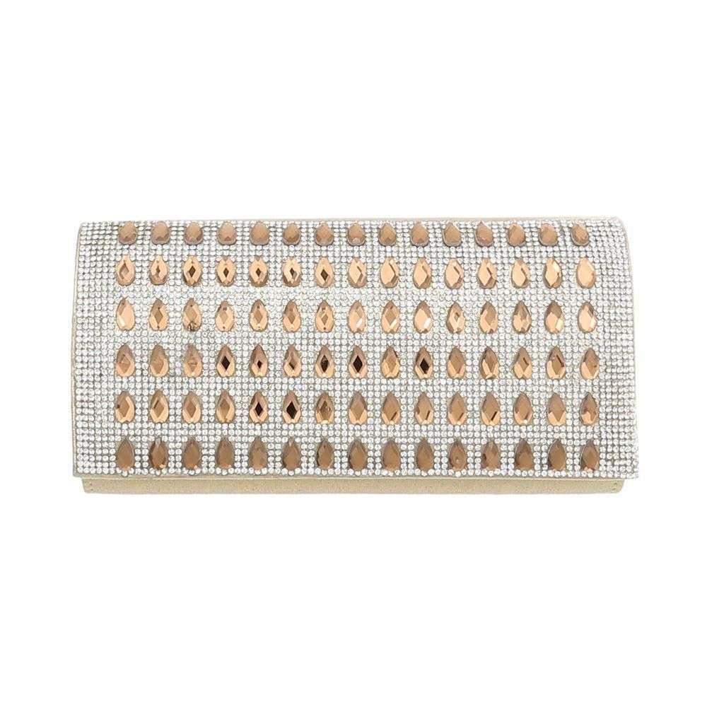 21e16b971330 Женская вечерняя сумочка золото - TA-31002-золото купить оптом в ...