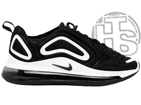 Мужские кроссовки Nike Air Max 720 Black/White AR9293-011, фото 2