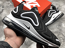 Мужские кроссовки Nike Air Max 720 Black/White AR9293-011, фото 3