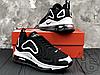 Мужские кроссовки Nike Air Max 720 Black/White AR9293-011, фото 5