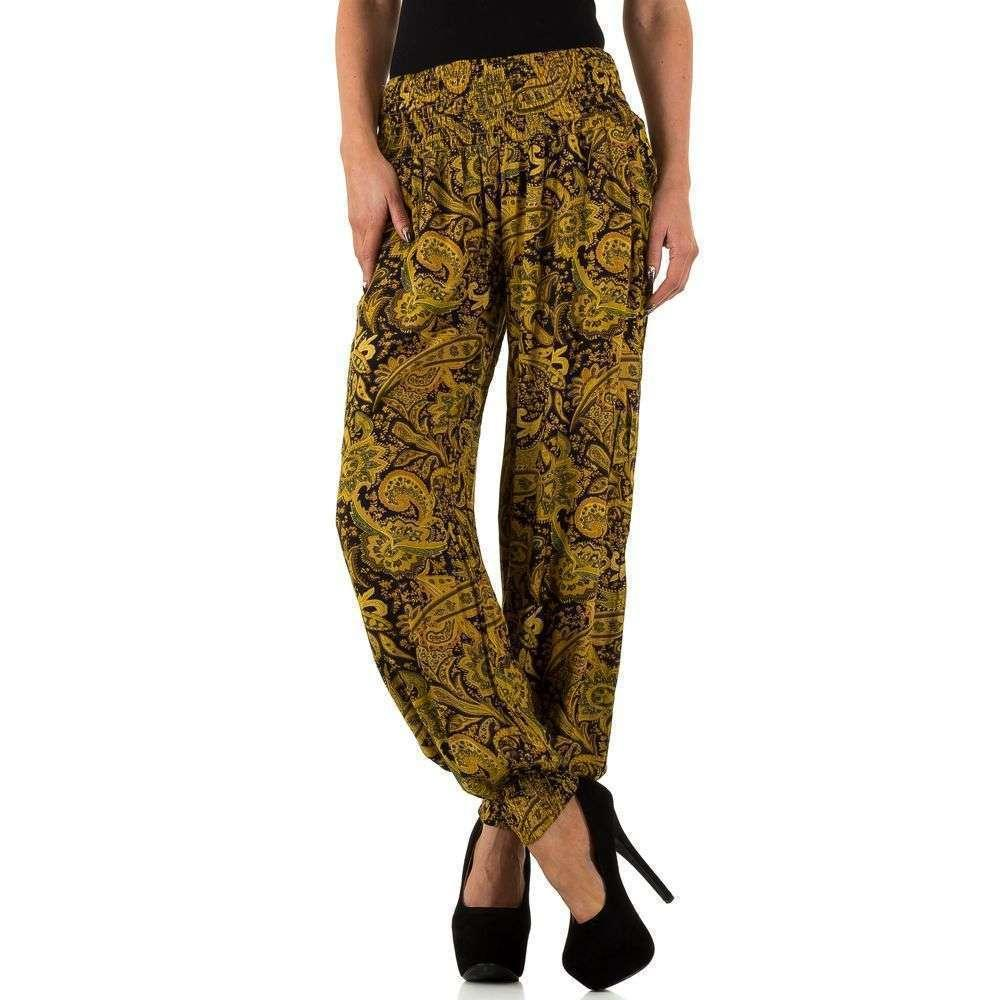 Женские брюки от Stella Morgan - yellow - KL-P706164-yellow