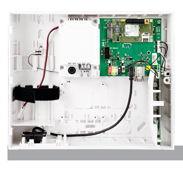 JA-103KRY контрольная панель с LAN и GSM коммуникаторами + радио модуль JA-111R, фото 1