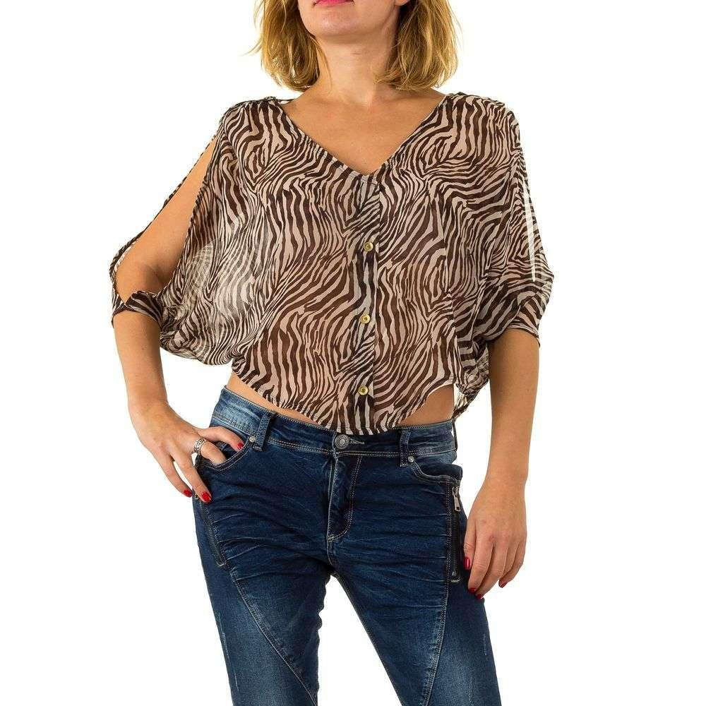 Женская блузка от Usco - Браун - KL-6048-Браун