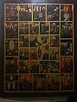 Икона Праздники 19 век Россия Московская школа
