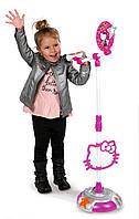 Музыкальный набор Hello Kitty. Микрофон с регулулируемой стойкой, звуковые эффекты