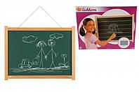 Доска Eichhorn для рисования, 10 мелков, 1 губка, 58x45 см
