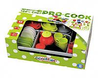 Набор игрушечной посуды Pro-Cook с сушилкой, 45 аксессуаров