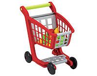 Тележка для супермаркета с продуктами питания игрушечная