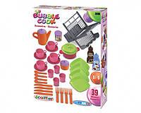 Набор посуды игрушечный Chef-Cook 9 аксессуаров