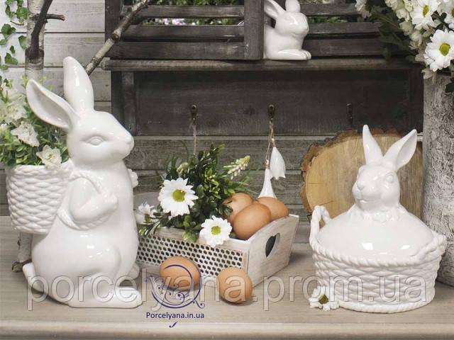 Декоративные пасхальные зайцы