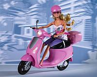 Кукольный набор Штеффи Прогулка на скутере