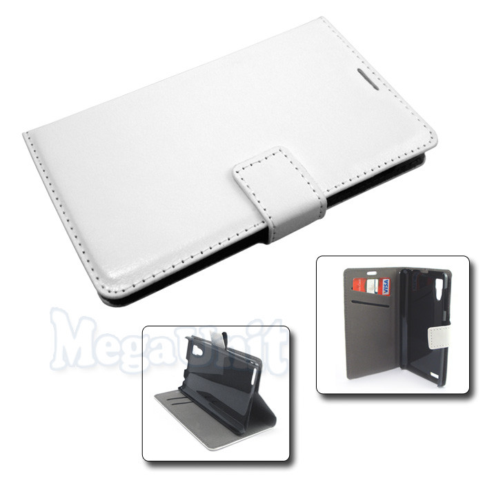 Чехол-книжка Book Cover для Lenovo P780 Белый