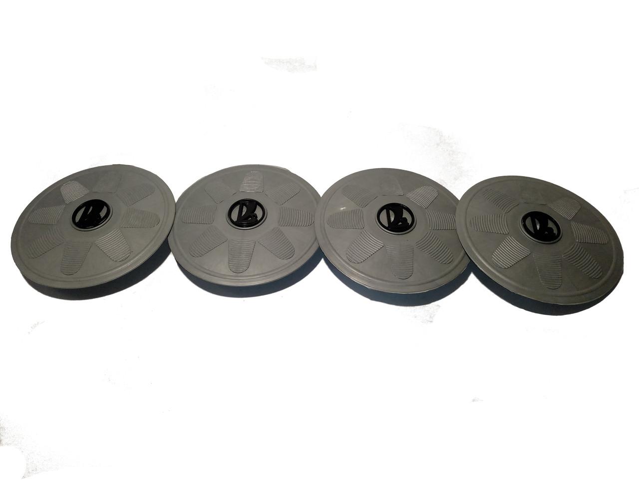 Колпак диска колесный серый (к-т 4шт.)