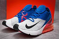 Кроссовки мужские Nike Air Max 270, синие (13424) размеры в наличии ► [  43 (последняя пара)  ], фото 1