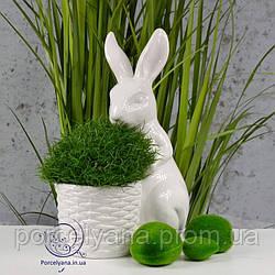 Большой заяц кашпо 34 см Ewax керамика