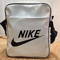 Сумка Лаковый планшет NIKE /Спорт сумка/Сумка планшет/Сумка для через плечо, фото 1