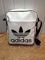 Сумка на плечо adidas Лаковая /Спорт сумка/Сумка планшет/Сумка для через плечо