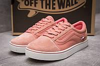 Кроссовки женские  Vans Old Skool, розовые (13724) размеры в наличии ► [  40 (последняя пара)  ], фото 1