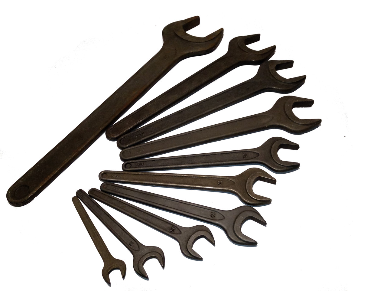 Ключ рожковый односторонний 38мм  /Sigma/