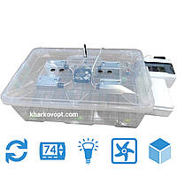 Инкубатор автоматический Курочка Ряба на 56 яиц (kr56bv) Код:875695857