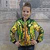Блестящая весенняя детская куртка