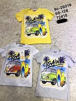 Футболки, майки,летние рубашки для мальчиков ОПТ ростовками