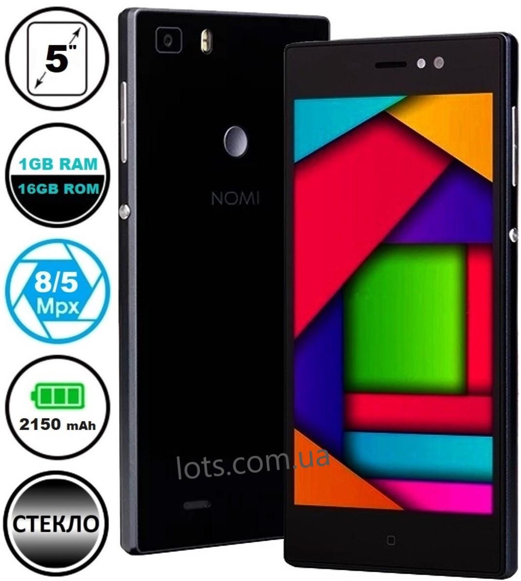 Смартфон Nomi i5031 1/16Gb Black Камера 8/5 МП