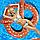Надувний круг Modarina Брецель 140 см Шоколадний PF3394, фото 4